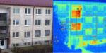 Termovízne meranie bytového domu